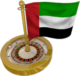 Dubai Flag Roulette Wheel