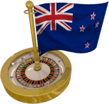 New Zealand Flag Roulette Wheel