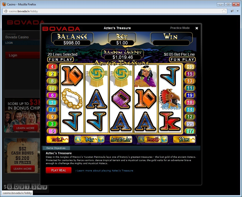 Gambling Bovada