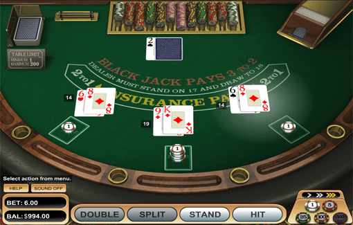 online casino blackjack american poker