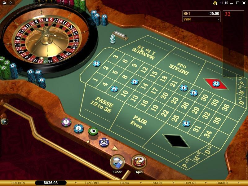 City casino roulette gambling commission returns