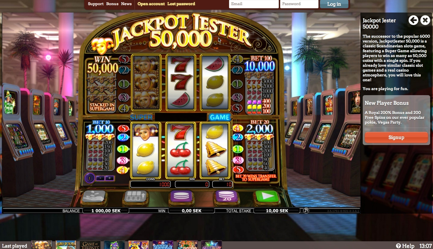 Casino PlayersOnly Review at PlayersOnly Casino Reveiw