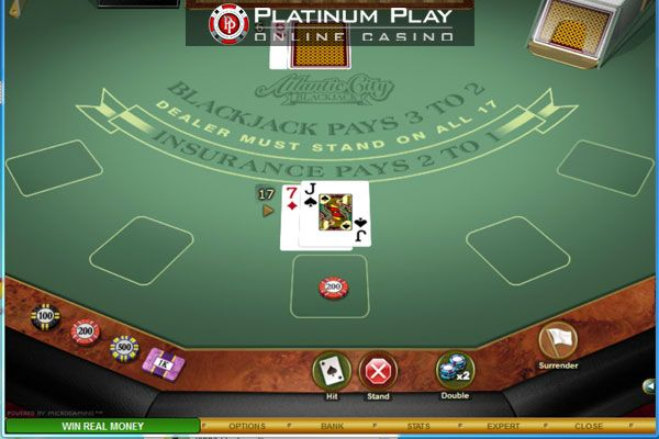 Platinum Play Casino - Blackjack