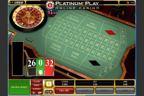 Platinum Play Casino - Roulette