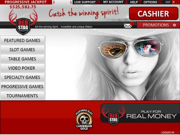 red stag casino mobile lobby