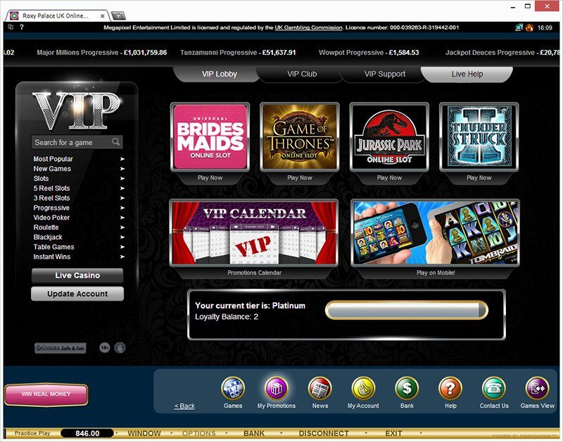 roxy palace online casino european roulette play