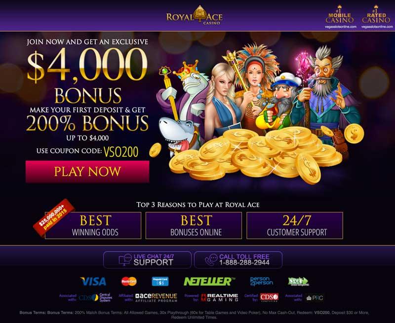 Royal Ace Casino- Lobby