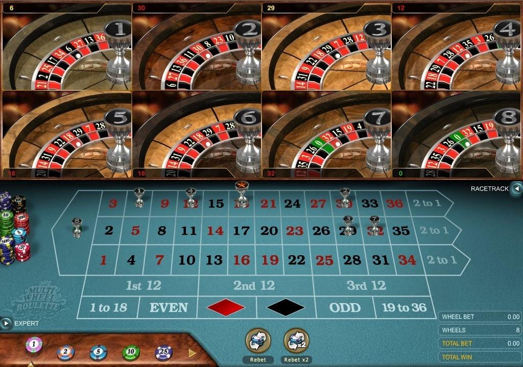 Ruby Fortune Casino - Roulette