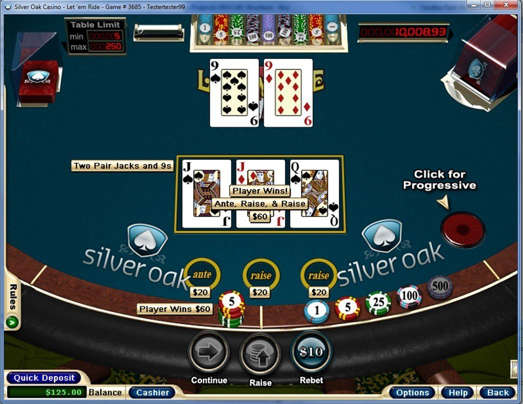 Silver Oak Casino - Poker