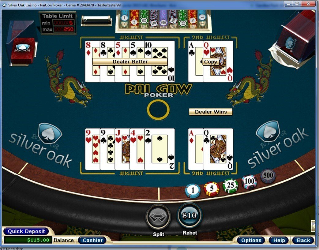 ASilver Oak Casino - Poker