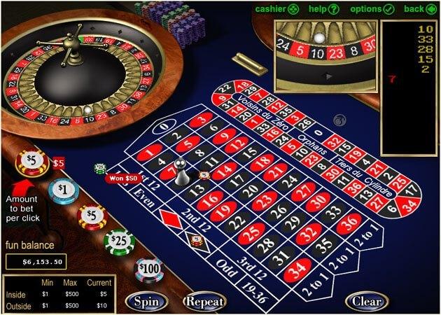 Slots.lv roulette