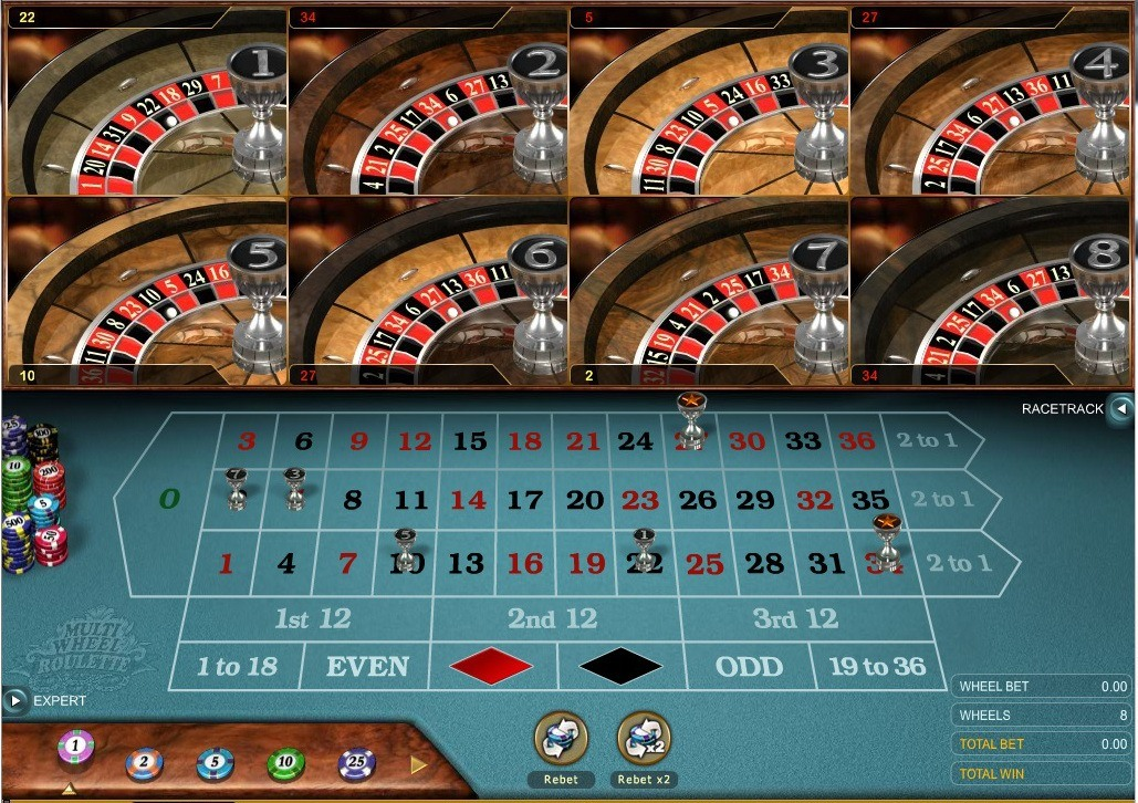 Spin Palace Casino - Roulette